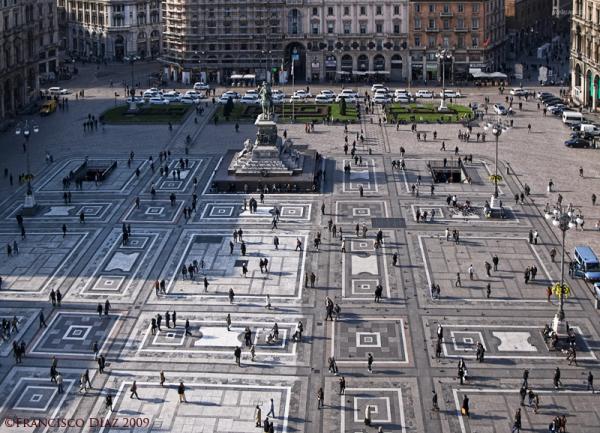 Milán, Plaza del Duomo