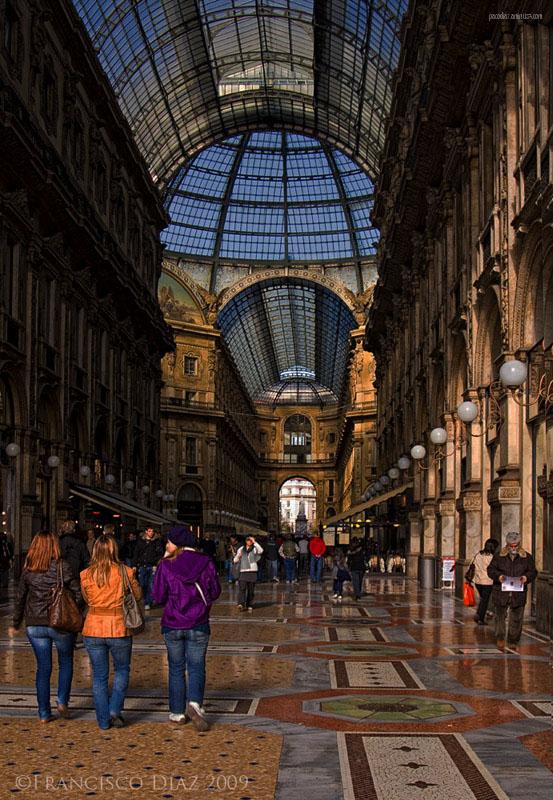 Milano, Galleria Vittorio Emanuele II