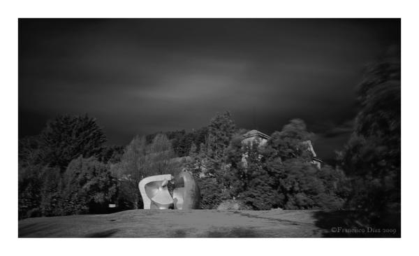 Henry Moore en el Parque de Europa (Guernica)