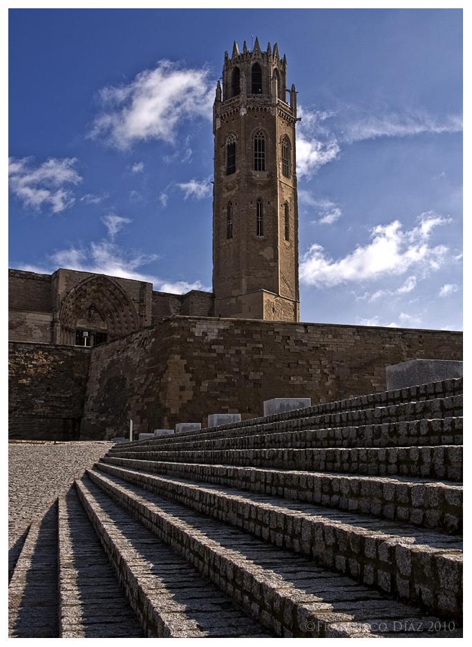 Catedral vieja de Lérida.