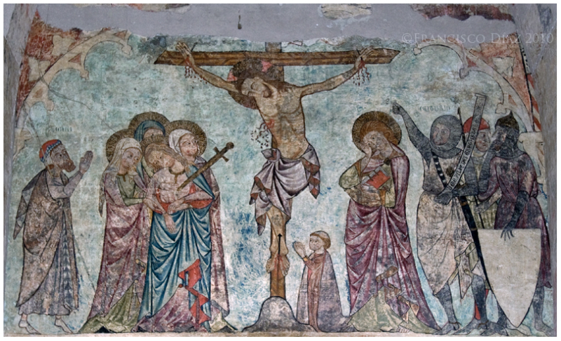 Catedral de Lérida, pintura mural anónima s. XIII