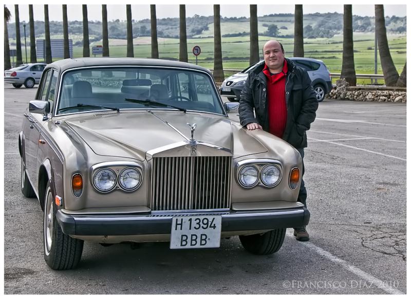 My friend Josep Lluís Aguiló y su Rolls