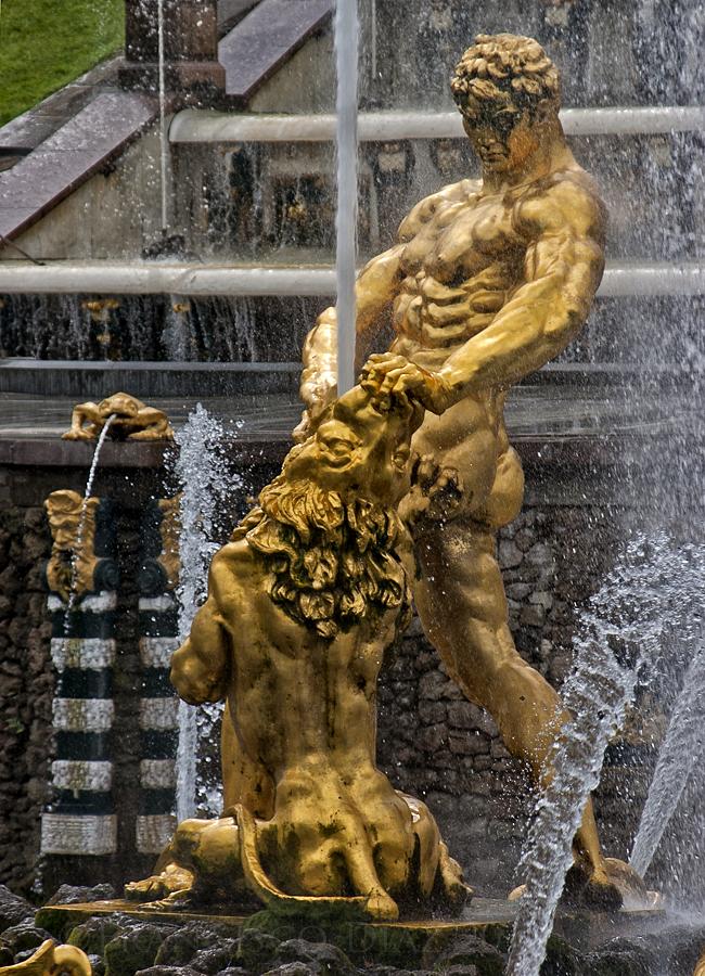 Fuente del palacio del zar Pedro