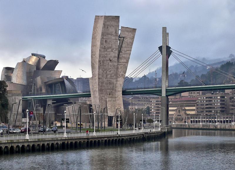 Bilbao, Guggenheim, Puente