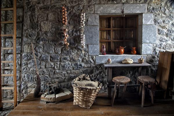 Interior del molino