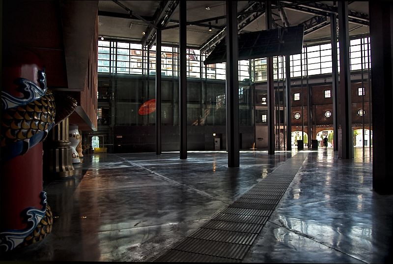 Alhóndiga, interior