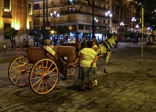 Sevilla, noche