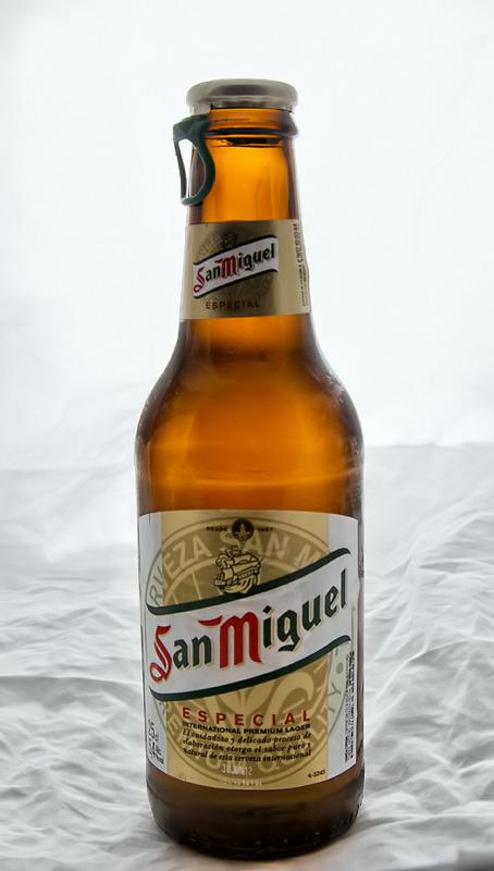 Una cerveza?...