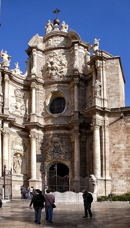 Porta ferrisa, Catedral de Valencia