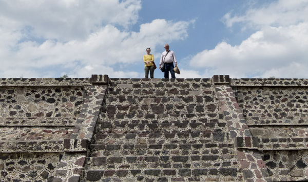 En Teotihuacán