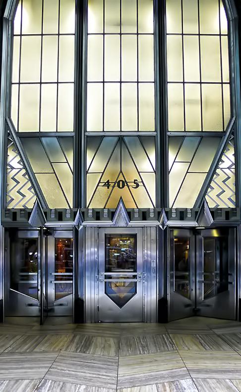 Entrada al Chrysler building