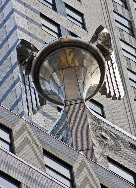 Detalle del Chrysler Building