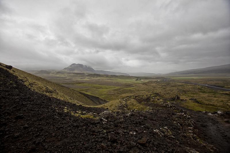 Desde el volcán Grabrok