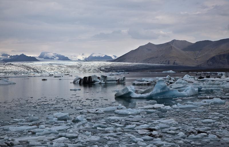 Icebergs de  Jokulsarion
