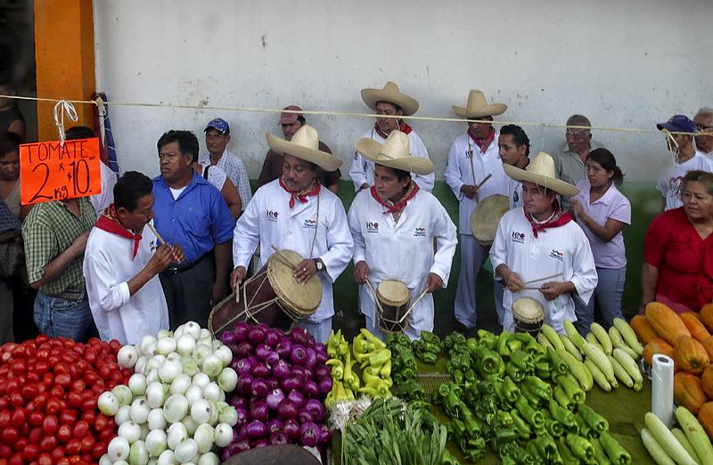 Mariachi en el Mercado
