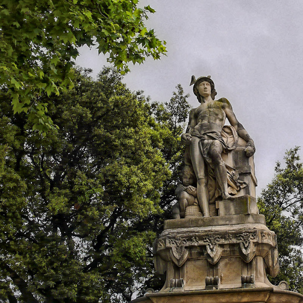 Mercurio. Parque de la ciudadela, Barcelona