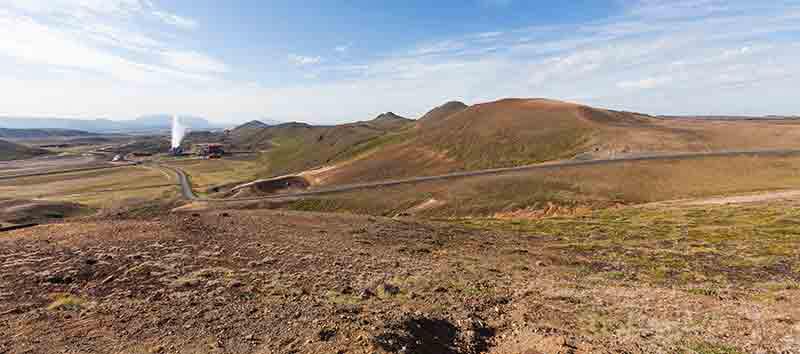 Tierras sulfurosas de Ktafla