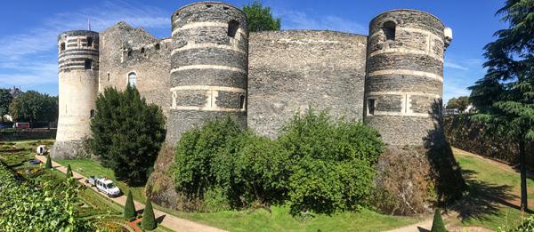 Murallas de Angers