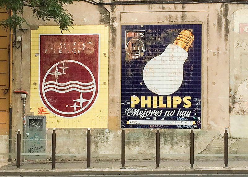 Antiguos anuncios
