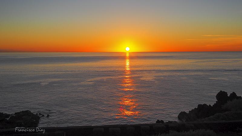 Amanecer en La Palma