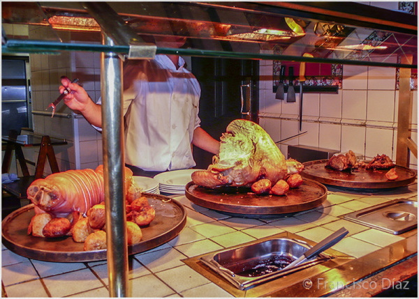 Pork or turkey, not beef!