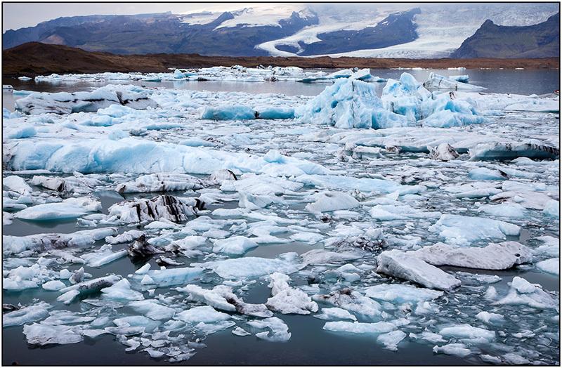 Icebergs en Jokulsarion