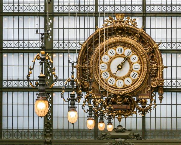 El reloj del Museo de Orsay