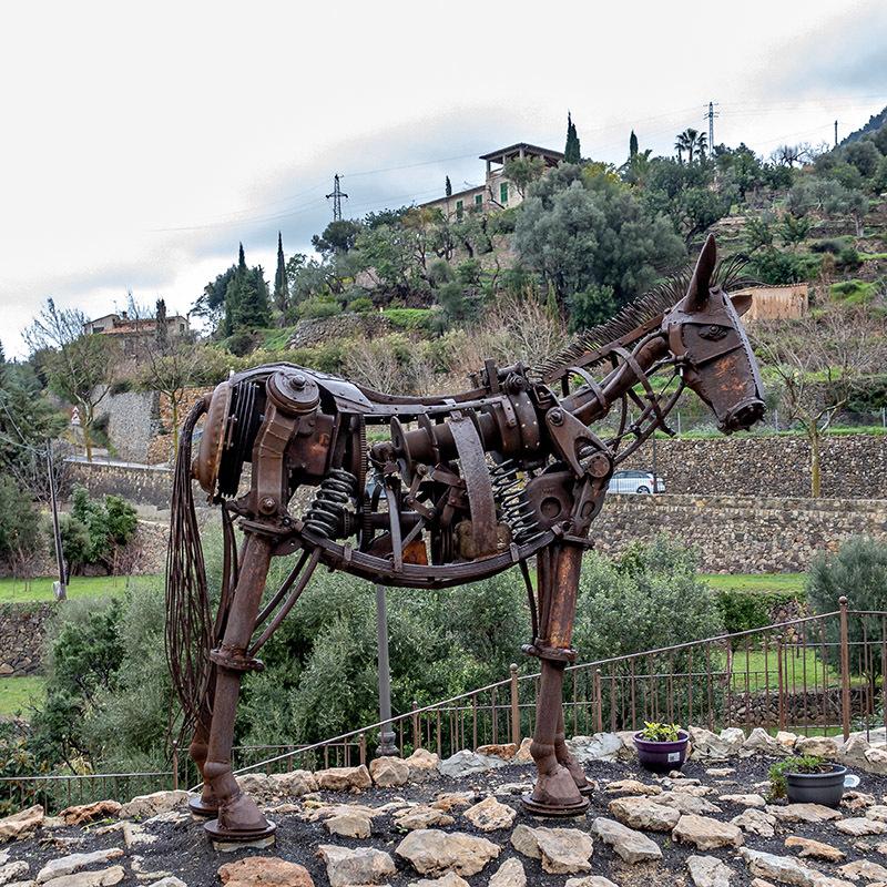El burro mecánico, de Mariano Navares