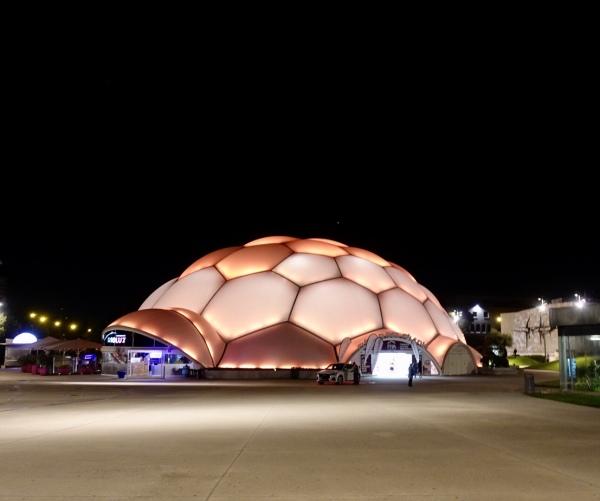 Valladolid. Cúpula del Milenio