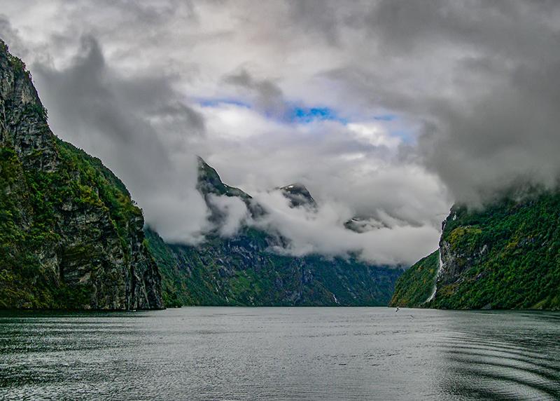 En el fiordo