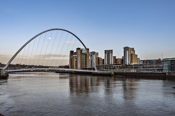 Puente sobre el Tyne, Newcastle