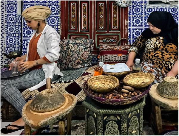Haciendo Argán. Marruecos.