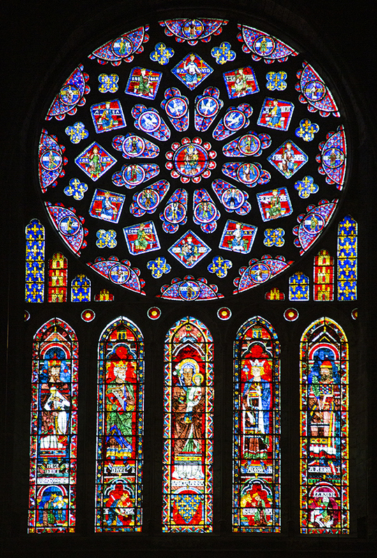 Vidriera (Chartres)