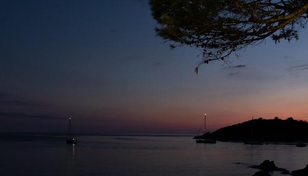 Hora azul en San Telmo