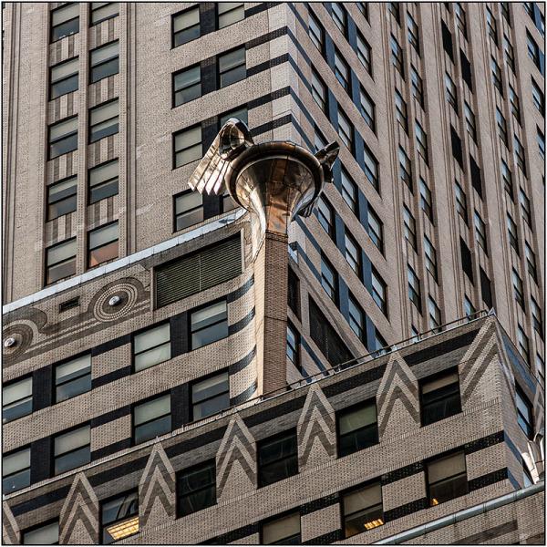 Chrysler Building detalle