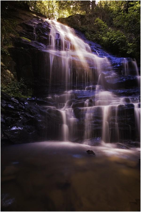 200 ft. Waterfalls at Enota Mountain Resort