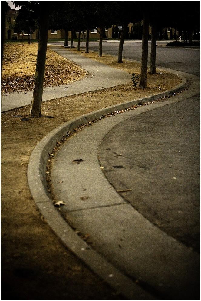 Walk down the cul-de-sac