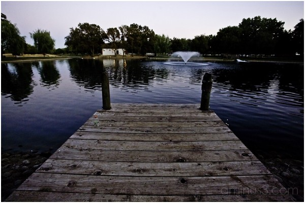 Suburbian Pond and Pier
