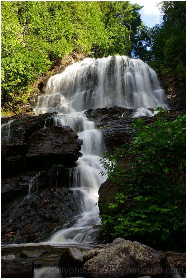 Beaver Brooks Falls in Colebrook, New Hampshire
