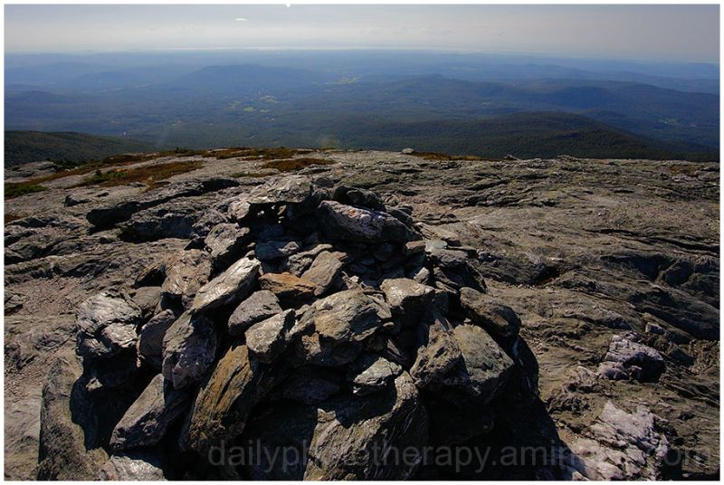 View of Champlain Valley from Mt. Mansfield