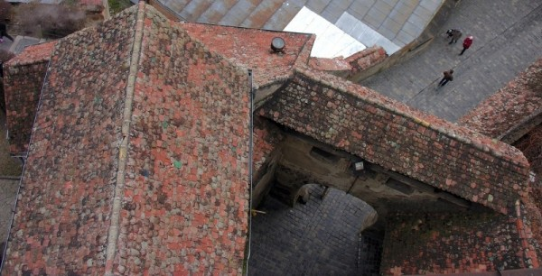 medieval roofs