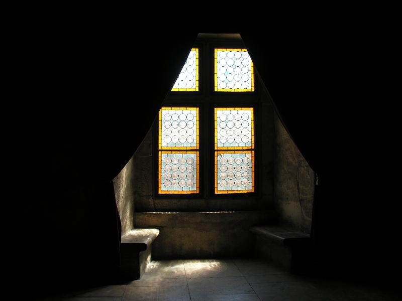 Castle window, Romania