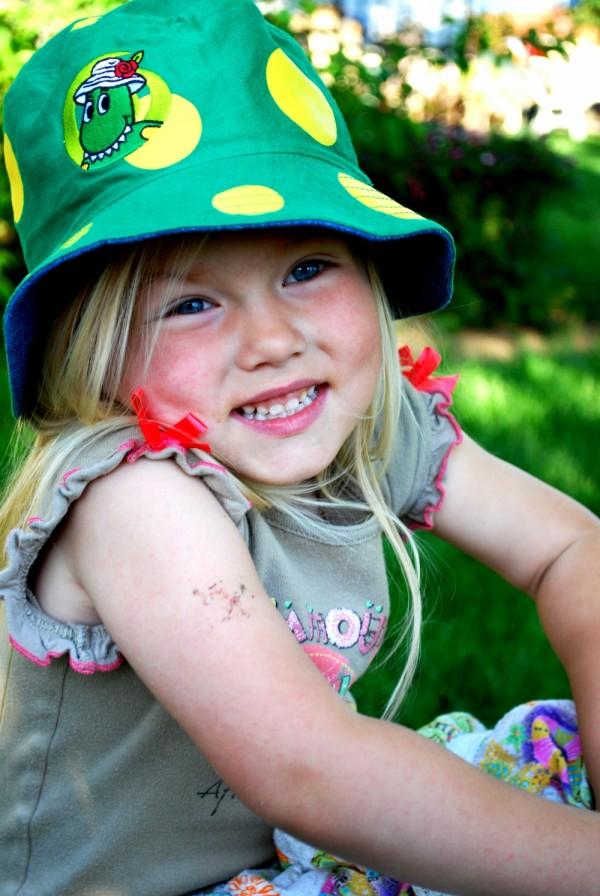 My little cousin Amelie