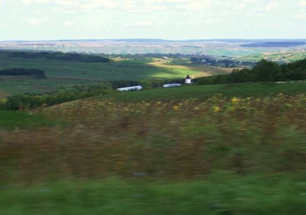 The eternal, motionless hills (Romania)