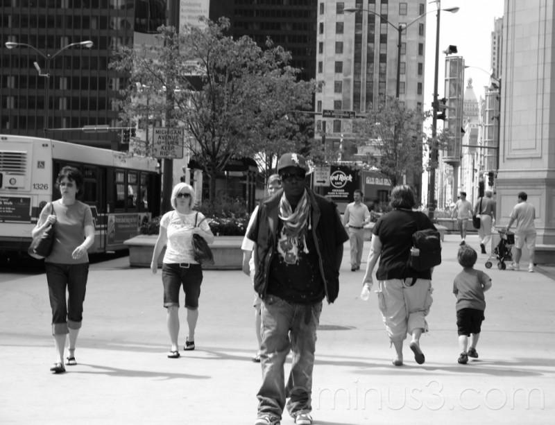 Diversity on Michigan Avenue