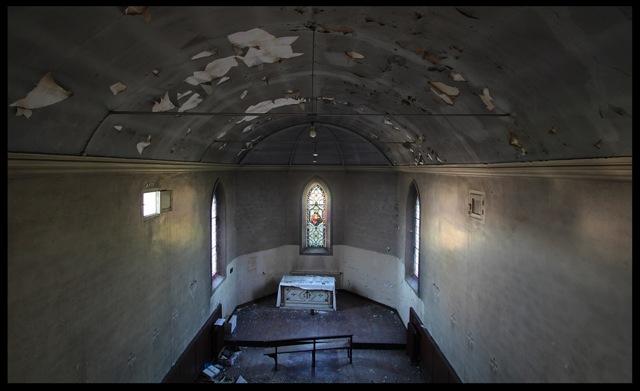 église abandonnée urbex