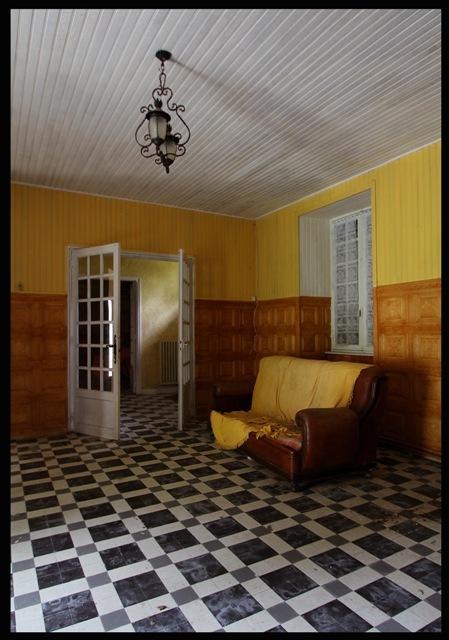 urbex Hall d'hôtel