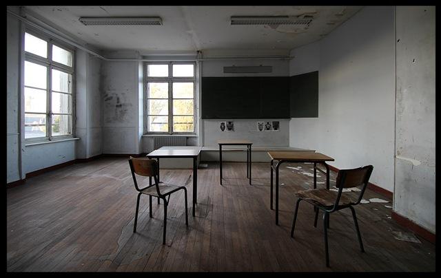 urbex L'école buissonnière
