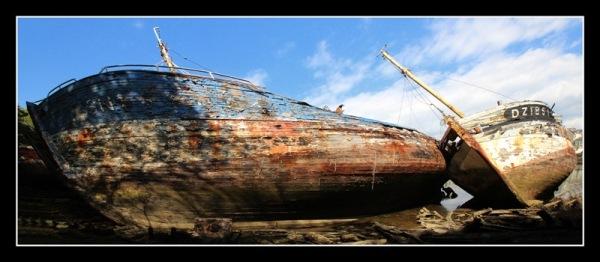 Cimetière de bateaux (Douarnenez)
