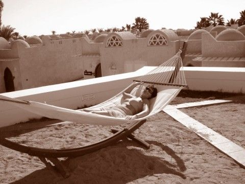 Relaxing In Sepia